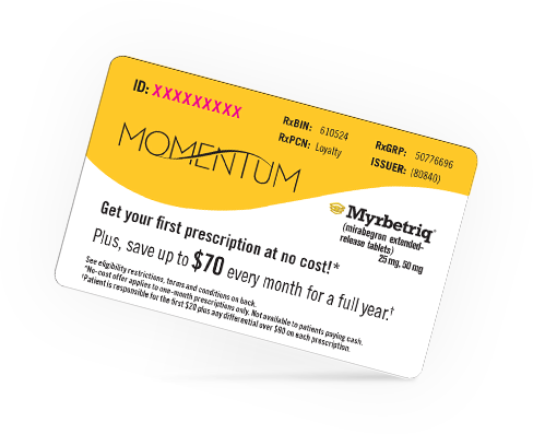 Momentum Savings Card